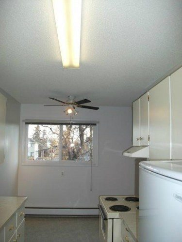 Sunny Second Floor Apartment With View and Dining Room Ceiling Fan